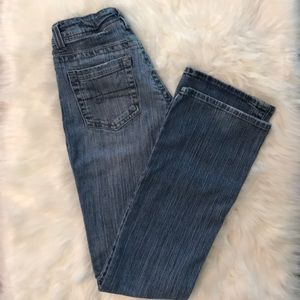 Maurices Morgan Boot Jeans. Size: 3/4 Long